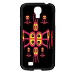 Alphabet Shirt R N R Samsung Galaxy S4 I9500/ I9505 Case (Black)
