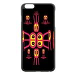 Alphabet Shirt R N R Apple iPhone 6 Plus/6S Plus Black Enamel Case