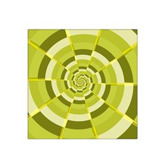 Crazy Dart Green Gold Spiral Satin Bandana Scarf by designworld65