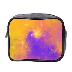 Colorful Universe Mini Toiletries Bag 2 Side by designworld65