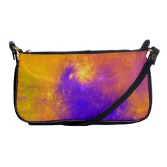 Colorful Universe Shoulder Clutch Bags by designworld65
