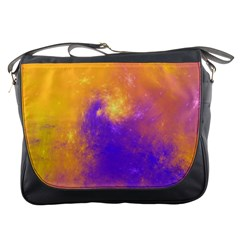 Colorful Universe Messenger Bags by designworld65