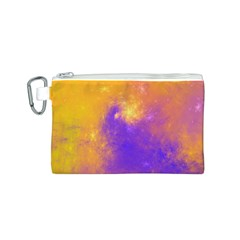 Colorful Universe Canvas Cosmetic Bag (s) by designworld65