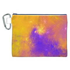 Colorful Universe Canvas Cosmetic Bag (xxl) by designworld65