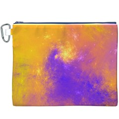 Colorful Universe Canvas Cosmetic Bag (xxxl) by designworld65