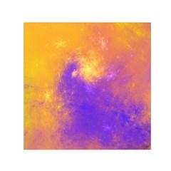 Colorful Universe Small Satin Scarf (square) by designworld65