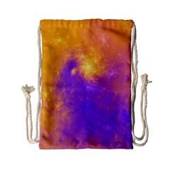 Colorful Universe Drawstring Bag (small) by designworld65