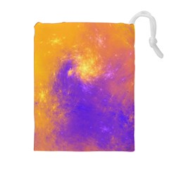 Colorful Universe Drawstring Pouches (extra Large) by designworld65