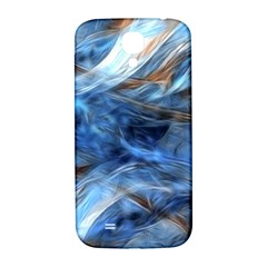 Blue Colorful Abstract Design  Samsung Galaxy S4 I9500/i9505  Hardshell Back Case by designworld65
