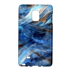 Blue Colorful Abstract Design  Galaxy Note Edge by designworld65
