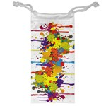 Crazy Multicolored Double Running Splashes Jewelry Bags