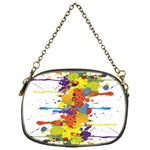 Crazy Multicolored Double Running Splashes Chain Purses (One Side)