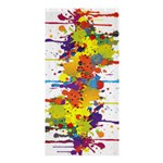 Crazy Multicolored Double Running Splashes Shower Curtain 36  x 72  (Stall)