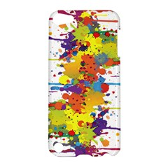 Crazy Multicolored Double Running Splashes Apple Ipod Touch 5 Hardshell Case by EDDArt