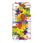 Crazy Multicolored Double Running Splashes Apple iPod Touch 5 Hardshell Case