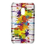 Crazy Multicolored Double Running Splashes Nokia Lumia 620