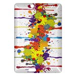 Crazy Multicolored Double Running Splashes Amazon Kindle Fire HD (2013) Hardshell Case