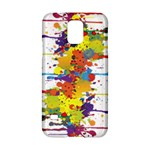 Crazy Multicolored Double Running Splashes Samsung Galaxy S5 Hardshell Case