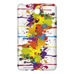 Crazy Multicolored Double Running Splashes Samsung Galaxy Tab 4 (8 ) Hardshell Case