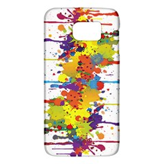Crazy Multicolored Double Running Splashes Galaxy S6 by EDDArt