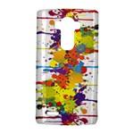 Crazy Multicolored Double Running Splashes LG G4 Hardshell Case