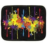 Crazy Multicolored Double Running Splashes Horizon Netbook Case (XL)
