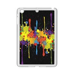 Crazy Multicolored Double Running Splashes Horizon Ipad Mini 2 Enamel Coated Cases by EDDArt