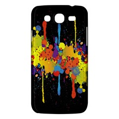 Crazy Multicolored Double Running Splashes Horizon Samsung Galaxy Mega 5 8 I9152 Hardshell Case  by EDDArt