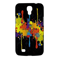 Crazy Multicolored Double Running Splashes Horizon Samsung Galaxy Mega 6 3  I9200 Hardshell Case by EDDArt
