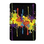 Crazy Multicolored Double Running Splashes Horizon Samsung Galaxy Tab 2 (10.1 ) P5100 Hardshell Case