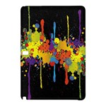 Crazy Multicolored Double Running Splashes Horizon Samsung Galaxy Tab Pro 12.2 Hardshell Case