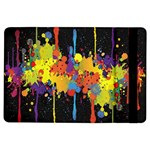 Crazy Multicolored Double Running Splashes Horizon iPad Air Flip