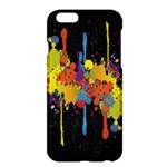 Crazy Multicolored Double Running Splashes Horizon Apple iPhone 6 Plus/6S Plus Hardshell Case