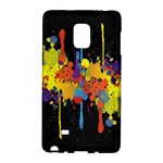 Crazy Multicolored Double Running Splashes Horizon Galaxy Note Edge