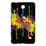 Crazy Multicolored Double Running Splashes Horizon Samsung Galaxy Tab 4 (7 ) Hardshell Case