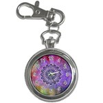 Flower Of Life Indian Ornaments Mandala Universe Key Chain Watches