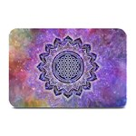 Flower Of Life Indian Ornaments Mandala Universe Plate Mats