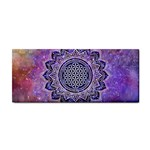 Flower Of Life Indian Ornaments Mandala Universe Hand Towel