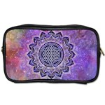 Flower Of Life Indian Ornaments Mandala Universe Toiletries Bags 2-Side