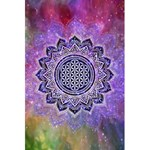 Flower Of Life Indian Ornaments Mandala Universe 5.5  x 8.5  Notebooks