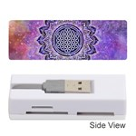Flower Of Life Indian Ornaments Mandala Universe Memory Card Reader (Stick)