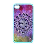 Flower Of Life Indian Ornaments Mandala Universe Apple iPhone 4 Case (Color)