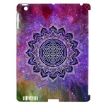Flower Of Life Indian Ornaments Mandala Universe Apple iPad 3/4 Hardshell Case (Compatible with Smart Cover)