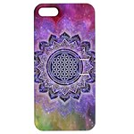 Flower Of Life Indian Ornaments Mandala Universe Apple iPhone 5 Hardshell Case with Stand