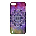 Flower Of Life Indian Ornaments Mandala Universe Apple iPod Touch 5 Hardshell Case with Stand
