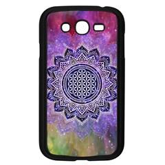 Flower Of Life Indian Ornaments Mandala Universe Samsung Galaxy Grand Duos I9082 Case (black) by EDDArt