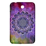 Flower Of Life Indian Ornaments Mandala Universe Samsung Galaxy Tab 3 (7 ) P3200 Hardshell Case