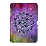 Flower Of Life Indian Ornaments Mandala Universe Samsung Galaxy Tab 2 (10.1 ) P5100 Hardshell Case