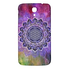 Flower Of Life Indian Ornaments Mandala Universe Samsung Galaxy Mega I9200 Hardshell Back Case by EDDArt