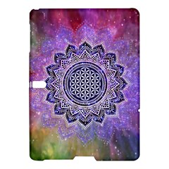 Flower Of Life Indian Ornaments Mandala Universe Samsung Galaxy Tab S (10 5 ) Hardshell Case  by EDDArt